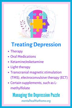 There are a variety of different treatments available for depression, but no single form of treatment is going to work for everyone. Sometimes, it can take a fair bit of trial and error to find the best fit. It can be helpful to keep an open mind, because something unexpected might end up working for you. To find out more about these and other options, check out Managing the Depression Puzzle by Ashley L. Peterson. #majordepression #depressiontreatment #livingwithdepression #depressionbooks