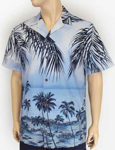 This is definitely luau appropriate attire or even casual wear to walk down the streets of Waikiki. Feel like a true local in this particular Hawaiian aloha shi Tribal Shirt, Paint Shirts, Aloha Shirt, Tropical Paradise, Casual Wear, Hawaiian, Cotton Fabric, How To Wear, Moana