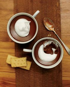 Chocolate Pots de Creme Recipe #NationalChocolateDay