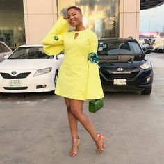 is a cutie in outfit Stylish Dresses, Simple Dresses, Short Dresses, Fashion Dresses, Women's Fashion, African Wear Dresses, African Fashion Ankara, Classy Outfits, Chic Outfits