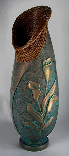 Judy Ritchie carved gourd