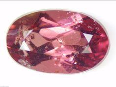 1.29 CT NATURAL REDDISH PURPLE GARNET LOOSE GEMSTONE OVAL 5.06 X 8.18 MM NICE