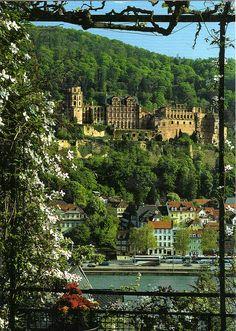 Heidelberg, Bavaria, Germany @meggschhill   BEST PLACE EVERRR!!!
