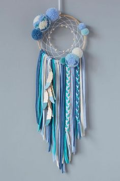 MumKoa | Categorías del producto ATRAPASUEÑOS Diy Arts And Crafts, Diy Craft Projects, Diy Crafts For Kids, Motif Mandala Crochet, Dream Catcher Decor, Hippie Mom, Dream Catcher Tutorial, Macrame Wall Hanging Patterns, Dream Catcher Native American
