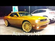 Dayton Rims, Lexus Ls 460, Rims For Sale, Trick Riding, Donk Cars, Old School Cars, Fancy Cars, Car Painting, Dodge Challenger
