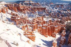 10 National Parks That Are Better in Winter // Bryce Canyon National Park