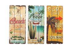 Wandbild Beach, 3er Set Holzbilder mit Strand / Surfer Motiv - Coole Deko für Cocktailbars #Geschenke #surfergeschenke #weihnachtsgeschenke #ausgefallenegeschenke #geschenkekaufen #schnellnochgeschenkekaufen #bestegeschenke #unvergesslichegeschenke #geschenkemitherz #surfergifts