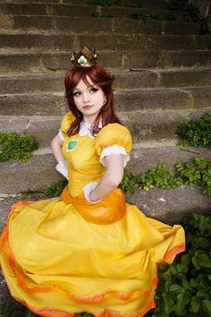 Princess Daisy - Nyu(Ichigo Nyu) Princess Daisy Cosplay Photo - Cure WorldCosplay