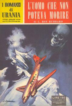 37  L'UOMO CHE NON POTEVA MORIRE 10/3/1954  DEATH'S DEPUTY  Copertina di  C. Caesar   L. RON HUBBARD