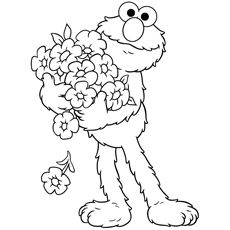 cute elmo coloring pages free printables