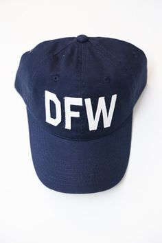 Aviate Ball Cap DFW {Navy}