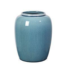 Crackle Vase 25,5 cm, Flint Stone Blue 351 kr. - RoyalDesign.dk