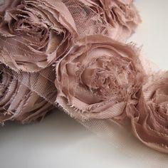 apparel fabric by the yard   Cappuccino ★ Chiffon Mesh Lace Fabric Trim PER Yard   eBay