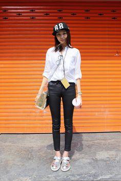 #streetstyle #korean #fashion