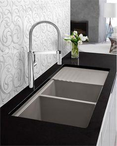 Contemporary Kitchen U0026 Bar Sink From Blanco