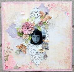 You are cherished **Scraps of Elegance** - Scrapbook.com papers from Pink Paislee, Prima and Authentique