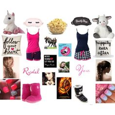 """sleepover with your best friend rydel lynch"" by elyr5 on Polyvore"