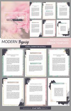 modern gypsy indesign ebook template presentation.html