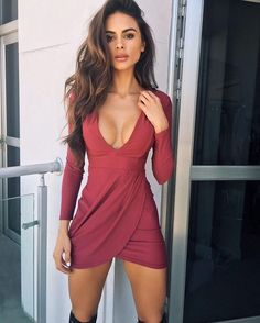 sophia vestido rojo