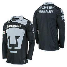 2b04f57f7 Pumas UNAM 2012 2013 Goalkeeper Jersey Football Mexicano