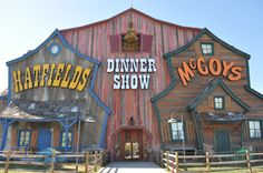 Hatfield & MicCoy Dinner Show in Pigeon Forge! A show that you won't want to miss!