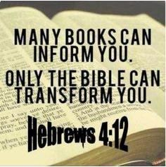 For the word of God is quick, and powerful, and sharper than any twoedged sword, piercing even to the dividing asunder of soul and spirit, and of the joints and marrow, and is a discerner of the thoughts and intents of the heart Hebrews 4:12 (1611 KJV!!!)
