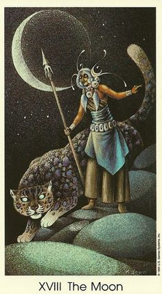 The Moon card came up several times during the shadow of Mercury Retrograde