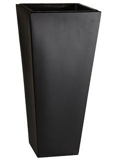Pflanzkübel Fiberglas für innen und außen, wasserdichter Kunststoffeinsatz