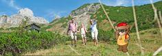 Filzmoos - Familienwandern mit Kindern im Salzburger Land Austria, Mountains, Nature, Travel, Beautiful, Hiking With Kids, Family Vacations, Tourism, Adventure