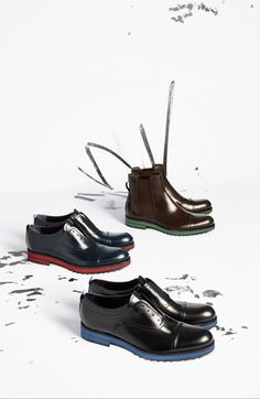 Louis Vuitton Autumn/Winter 2013-2014 Shoe Collection: all the must-haves for the male wardrobe.