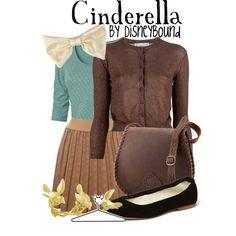 Cinderella outfit - by disneybound Disney Cute, Disney Style, Disney Dresses, Disney Outfits, Disney Clothes, Cosplay Casual, Cinderella Outfit, Cinderella Disney, Cinderella Cleaning