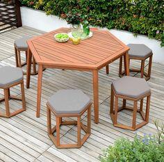 Hexagonal furniture