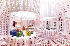 Polka Dot Patterns Defining New Louis Vuitton Concept Store in London