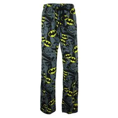 Even a superhero needs a little time to relax and these are the perfect pants for him. The covered elastic waistband will not bind or pinch. The waistband has a functional drawstring to adjust for a perfect fit. These pants are lightweight knit and made of incredibly soft cotton.