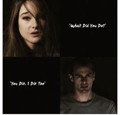 *tear* Tris and Four