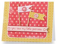 Little Princess Card by @Teri Anderson - supplies and instructions included