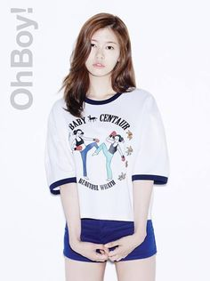Jung So Min embodies youthfulness in her 'Oh Boy! Jung So Min, Young Actresses, Korean Actresses, Hwang Jin Uk, Korean Girl, Asian Girl, Boy Photo Shoot, Thing 1, Boy Photos