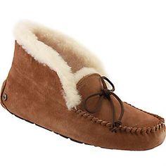 3776b25684751 UGG Alena Slippers - Womens Chestnut Rogan s Shoes