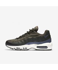 buy online c6814 f3af4 Nike Air Max 95 Premium Deep Grey Black Blue White Shoes UK Air Max 95 Ultra