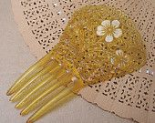 Loads of Great Hair products at Elronds emporioum on ETSY love this yellow one