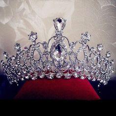 Wish | Bridal Wedding Crystal Rhinestone Hair Headband Crown Comb Tiara Prom Pageant
