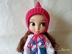 대바늘 모자 스텔라픽시 요정모자 뜨기 (도안,뜨는법) : 네이버 블로그 Disney Characters, Fictional Characters, Crochet Hats, Dolls, Disney Princess, Knitting, Knitting Hats, Baby Dolls, Tricot