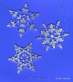 all things paper: December 2009 -- three free snowflake patterns