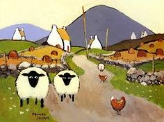 Ewe Two by Thomas Joseph.... Reminds me of Ireland... by madge