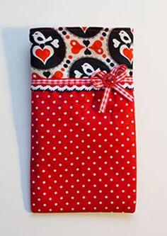 Süße Handytasche bzw. Smartphonetasche, kreativlabor berlin, tolle anleitung