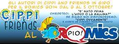 Gli Autori di Cippi and Friends e de I Misteri di Villa Price al Romics. Trovaci alla Fiera del Fumetto di Roma, dal 2 al 5 ottobre 2014 partecipa al gioco!