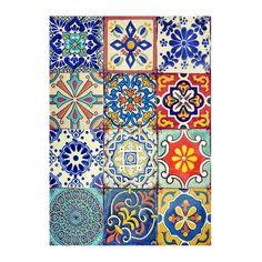 Cadence A / 4 rizspapír - 307 - Kreativ Hobby Sarok Spanish Tile, Decoupage Paper, Mandala Coloring, Mosaic Patterns, Rice Paper, Calligraphy Art, Paint Designs, Chalk Paint, Pattern Design