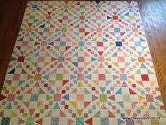 Shiny Brite - It's a pattern from the May/June 2014 issue of Fons and Porter's Lover of Quilting magazine.