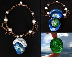 I am Moana of Motunui. You will board my boat and restore the heart to Te Fiti.  This handmade Disneys Moanas Necklace is perfect to compliment your/ your relatives Moana cosplay. This product is completely handmade and made to order and it takes 7-10 days to make, so please be patient and it will be with you as soon as possible. Delivery to the US is approximately 1-2 weeks.  Thank you