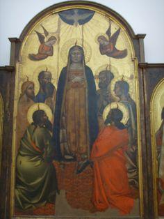 Orcagna - Madonna in trono - Galleria dell'Accademia - Firenze